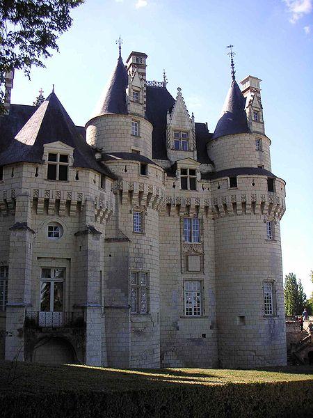 Замок Юссе - «замок спящей красавицы» 68407