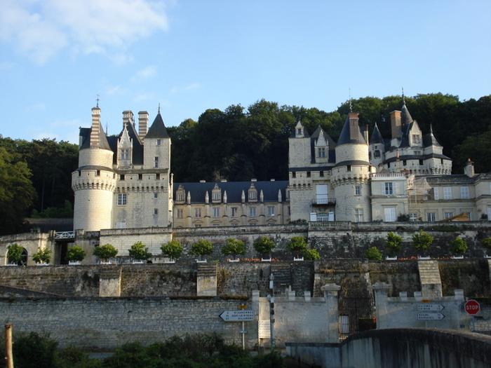 Замок Юссе - «замок спящей красавицы» 59051