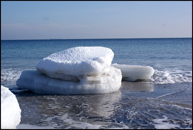 Чёрное море зима 2010