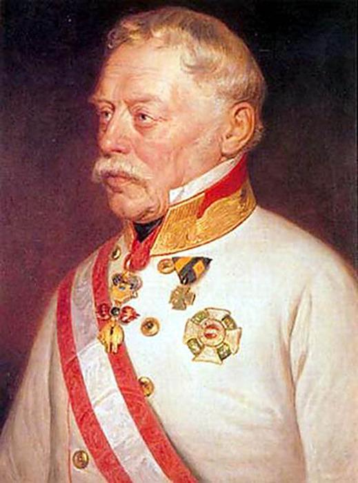 в 1849 году австрийский