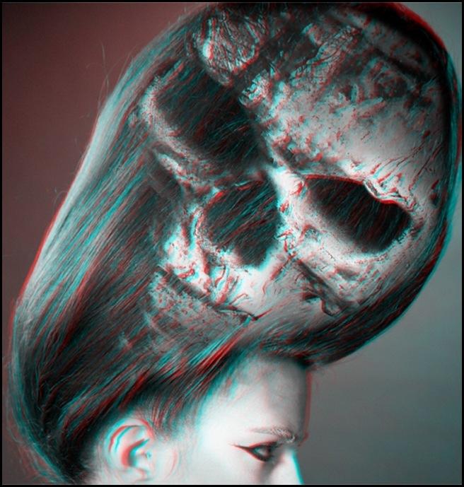 Мрачная 3D история для для журнала The KRTL Collective от фотографа Jacques Dequeker