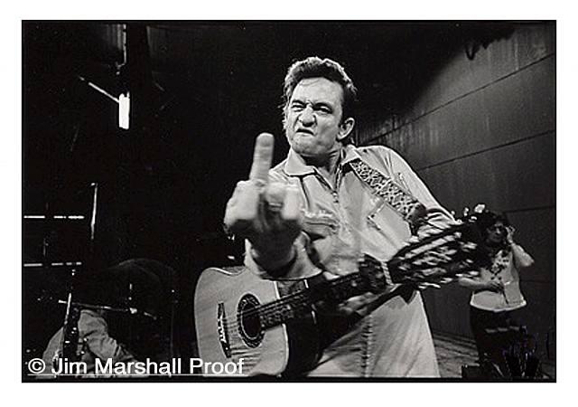 Джонни Кэш фото Джимми Маршала