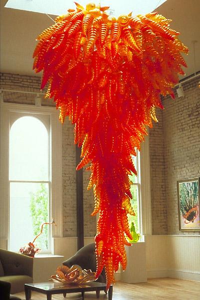 Американский скульптор по стеклу Дэйл Патрик Чихули (Dale Chihuly)