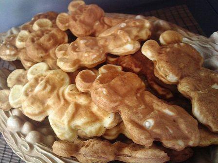 вафли рецепт для вафельницы олимпийский мишка