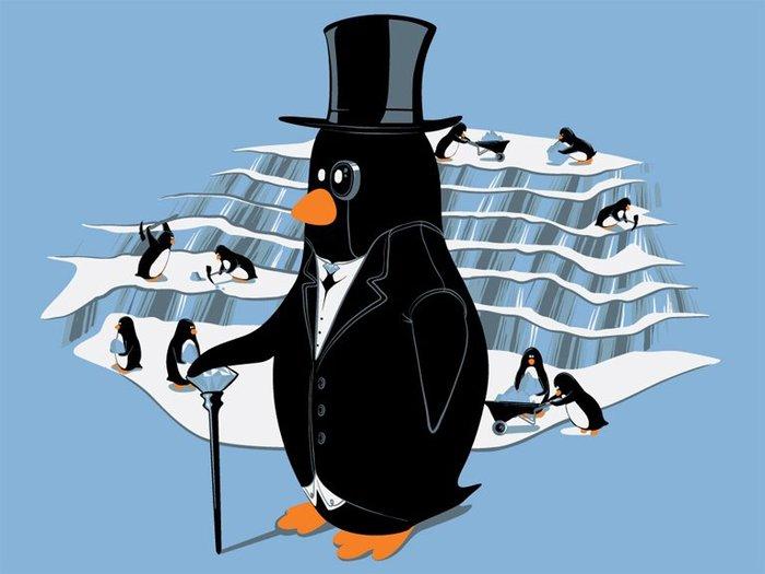 пингвин Linux
