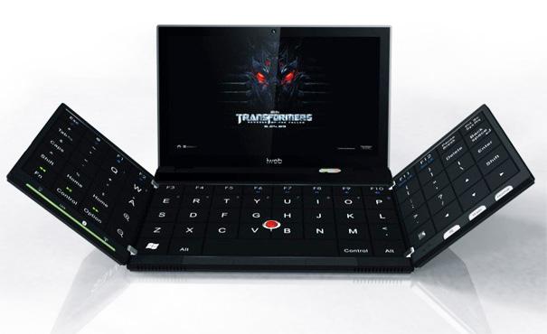 ноутбук с раскладной клавиатурой Yang Yongchang