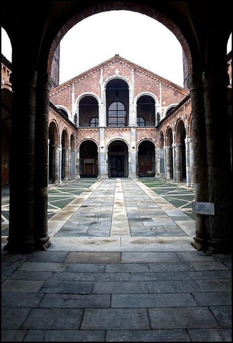 Зимний Милан