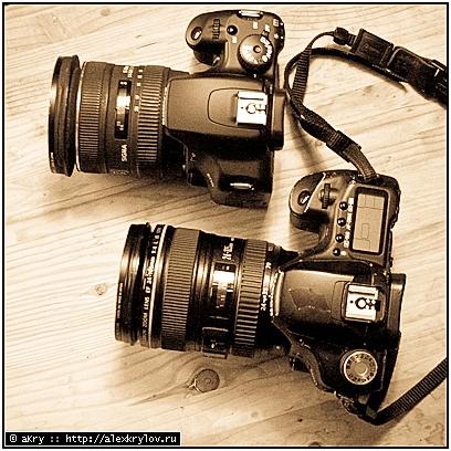 Canon 50D и Canon 1000D IR