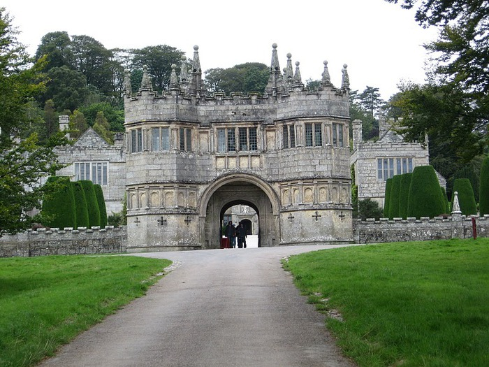 Замок Lanhydrock, графство Корнуолл. 74747