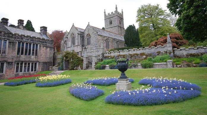 Замок Lanhydrock, графство Корнуолл. 37357