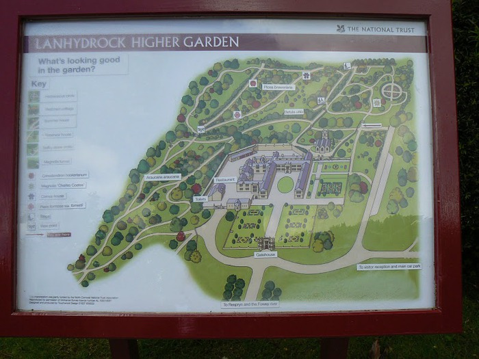 Замок Lanhydrock, графство Корнуолл. 97480