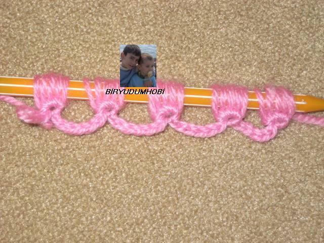 Нежный шарф. Вязание крючком