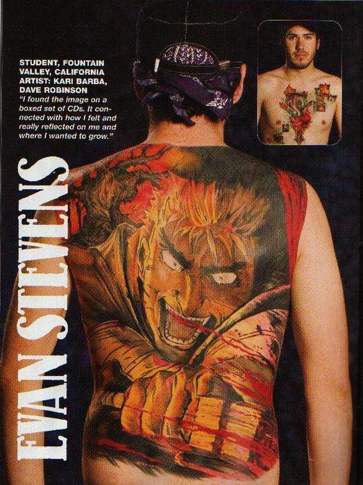 картинки татуировок аниме