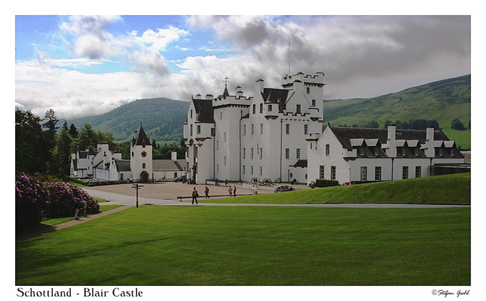 Шотландия - замок Блэр 26385