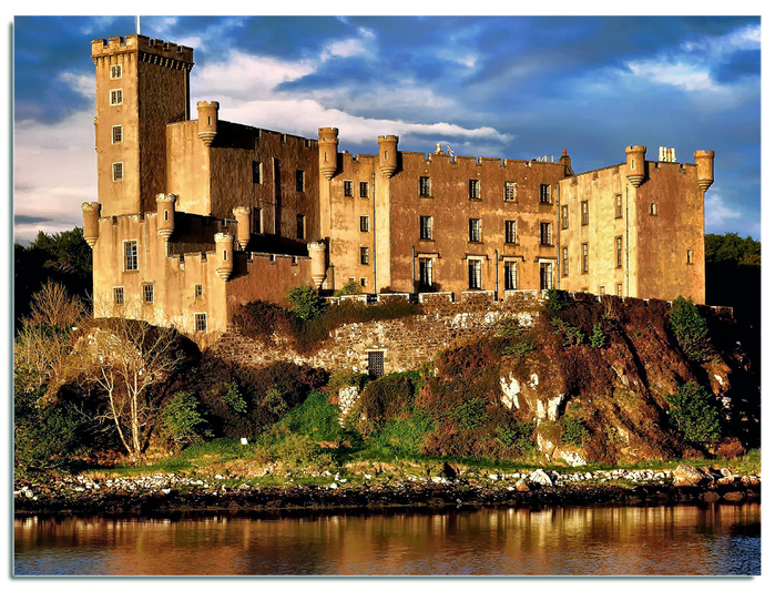 Замок Данвеган (Dunvegan castle) 71198