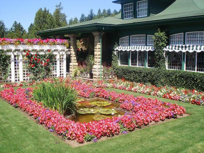 Сады Бучартов на острове Ванкувер. The Butchart Gardens. 27931