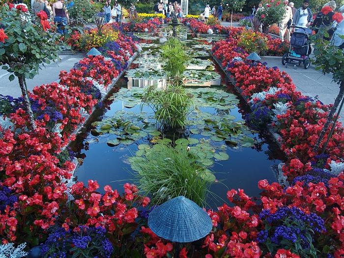 Сады Бучартов на острове Ванкувер. The Butchart Gardens. 27053