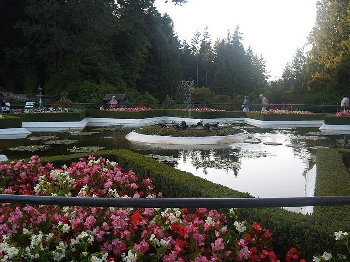 Сады Бучартов на острове Ванкувер. The Butchart Gardens. 39163