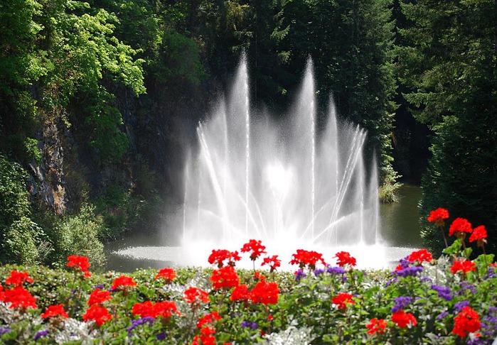Сады Бучартов на острове Ванкувер. The Butchart Gardens. 34985