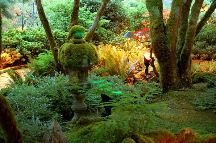 Сады Бучартов на острове Ванкувер. The Butchart Gardens. 73660