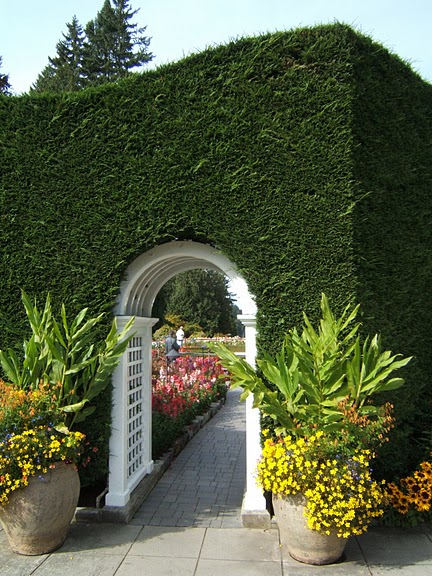 Сады Бучартов на острове Ванкувер. The Butchart Gardens. 24063
