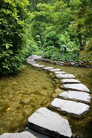 Сады Бучартов на острове Ванкувер. The Butchart Gardens. 21848