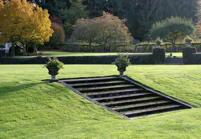 Сады Бучартов на острове Ванкувер. The Butchart Gardens. 60852
