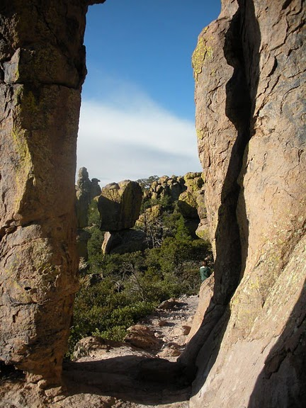 Аризона: Парк 'Chiricahua' - CHIRICAHUA NATIONAL MONUMENT 45246