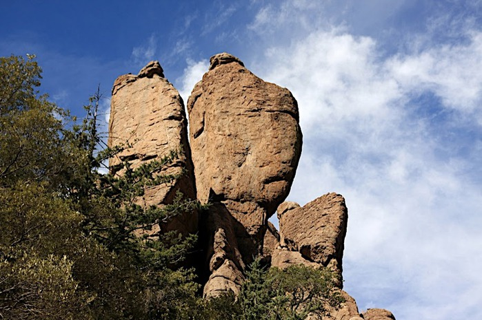 Аризона: Парк 'Chiricahua' - CHIRICAHUA NATIONAL MONUMENT 12382