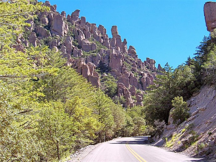 Аризона: Парк 'Chiricahua' - CHIRICAHUA NATIONAL MONUMENT 75703