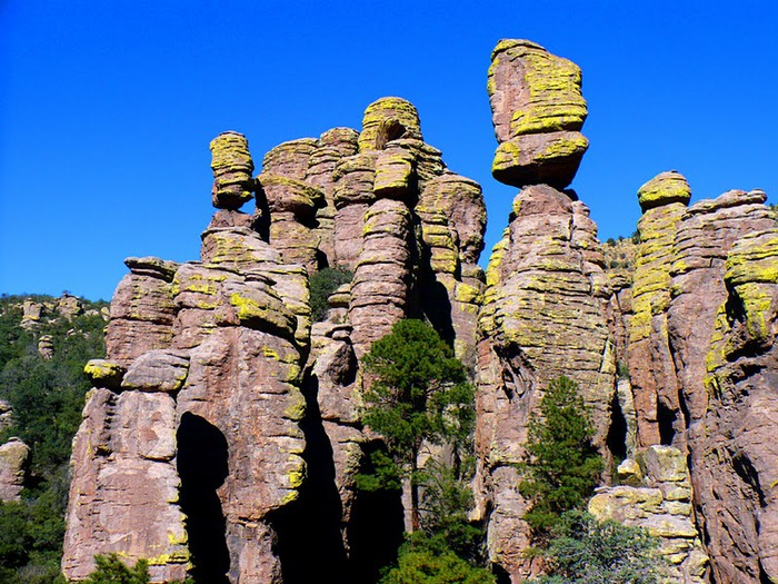 Аризона: Парк 'Chiricahua' - CHIRICAHUA NATIONAL MONUMENT 93741