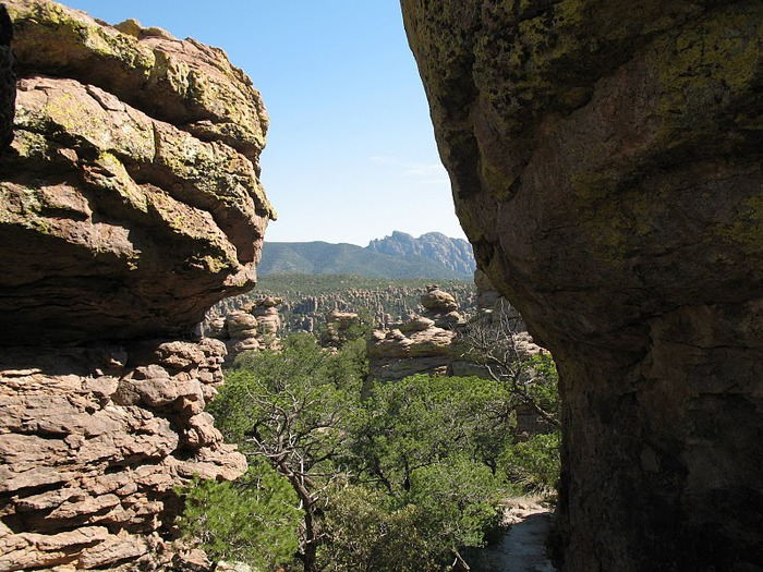 Аризона: Парк 'Chiricahua' - CHIRICAHUA NATIONAL MONUMENT 56616