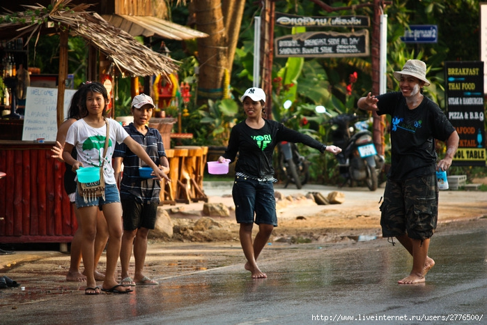 остров Чанг, Таиланд, Сонгкран