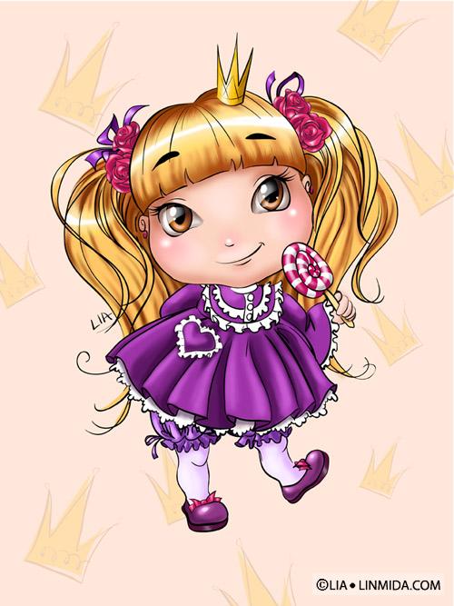 Сказки про Принцессу. Юность принцессы