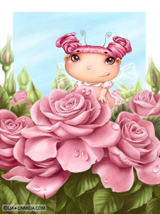 Чудесные феечки и принцесски от Lia
