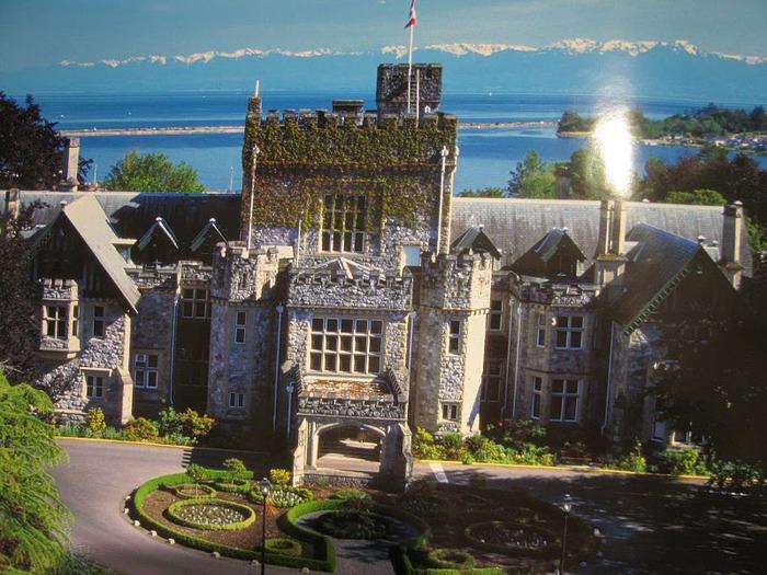 Замок Хэтли - Замок Hatley. 47390