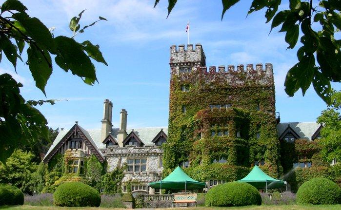 Замок Хэтли - Замок Hatley. 13376