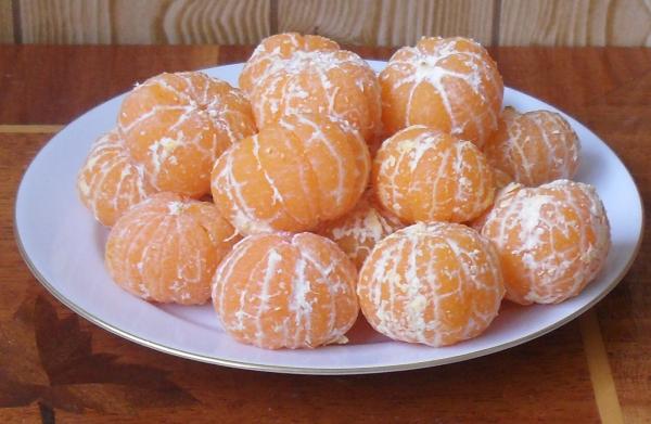 (600x391, 599Kb)Похудальные мандарины
