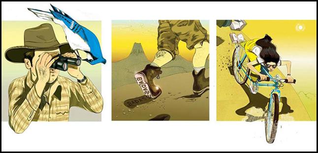 Иллюстрации знаменитого Маркоса Чина (Marcos Chin)
