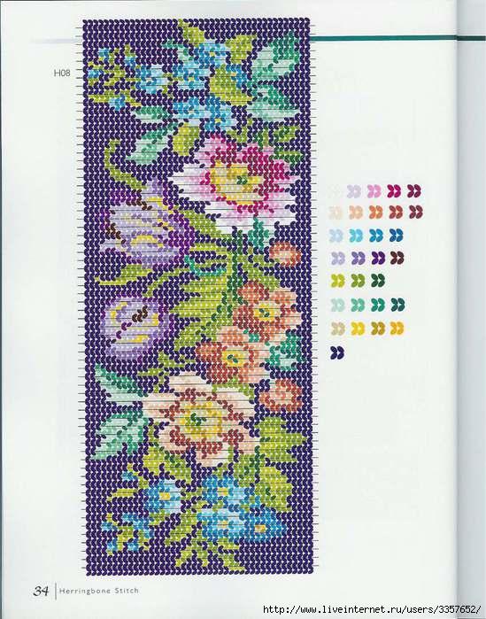Мозаичное плетение- панно