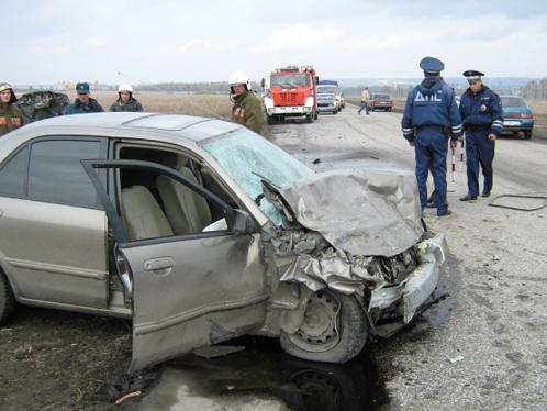 ДТП произошло в трех километрах от Пензы.