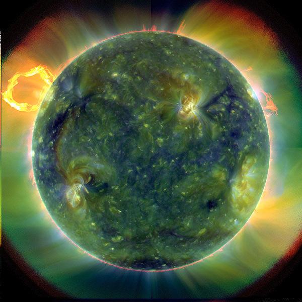 Уникальные снимки Солнца космического агентства NASA