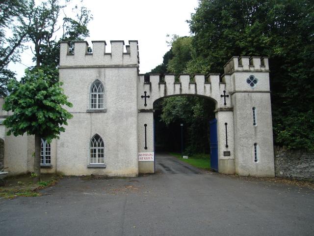 Замок Глайн (Glin Castle) графство Лимерик 19331