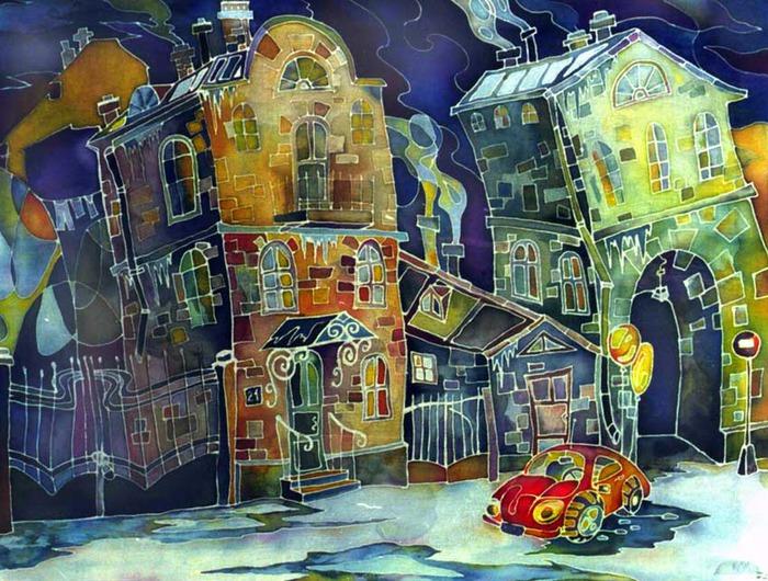 Работы Марии Чухлебовой