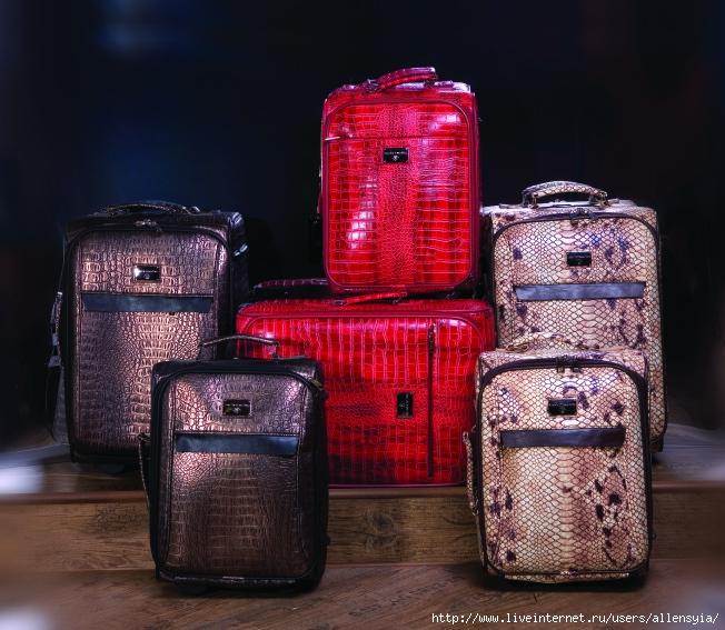 женский чемодан