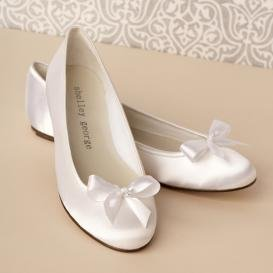Свадебные балетки для невесты под свадебное платье