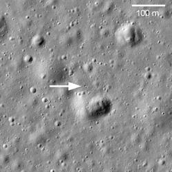 карта луны где нашли потеряный рефлектор