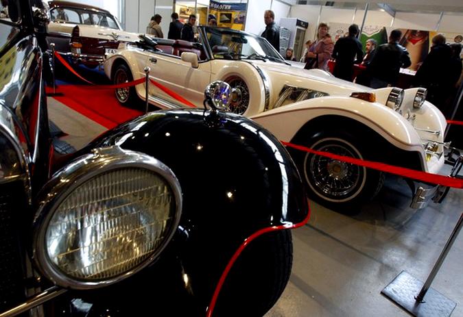 'Retro & Exotica Motor Show' ��������� � �����, �������, 16 ������ 2010 ����.