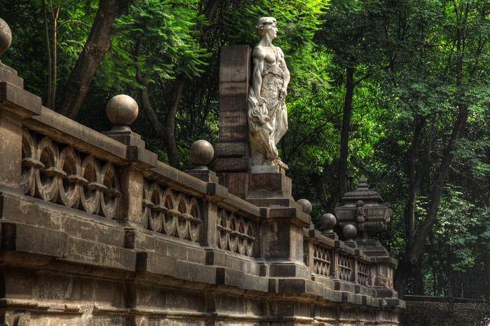 Castillo de Chapultepec (Замок Чапультепек) 70874