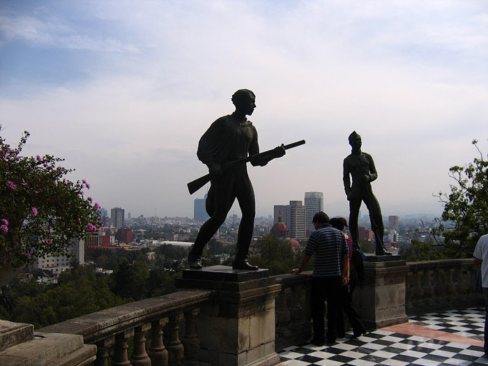 Castillo de Chapultepec (Замок Чапультепек) 11821